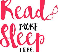 Read/Sleep 2 by Spencerhudson