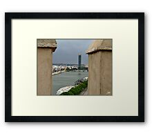 Old and New. Framed Print