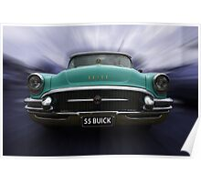 55 Buick Poster