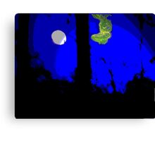 Reaching for the Moon [Hybrid] Canvas Print