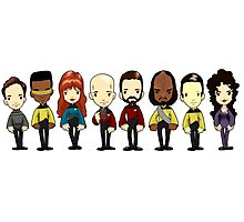 Space... The final frontier. These are the voyages of the starship Enterprise Photographic Print