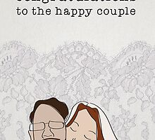 Wedding greeting card by LSdesign