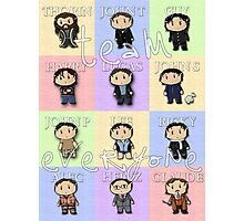 Team Everyone Richard Armitage Characters - With Text Photographic Print