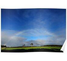 nearly rainbow Poster