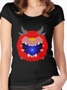 Doom Cacodemon Women's Fitted Scoop T-Shirt