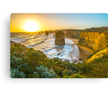 Sunset at the Twelve Apostles Canvas Print
