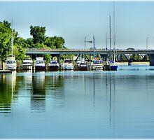 Bay City Marina by Bill Noonan