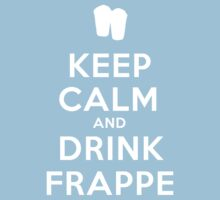 Keep calm and drink frappe  by poppyflower
