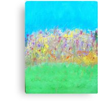 At the Edge of the Field Canvas Print