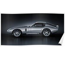 Shelby Daytona - Bullet Poster
