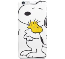 hug Peanuts Snoopy iPhone Case/Skin