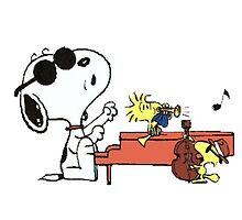 play music group snoopy by DinaPurifoy