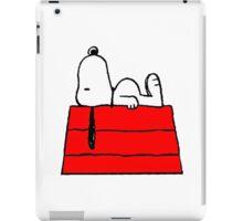 sleeping snoopy huft iPad Case/Skin