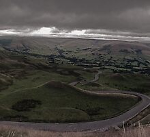 Mam Tor Panoramic  by Harry Mcwilliams