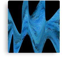 Distorted Stream Canvas Print