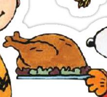snoopy chiken Sticker