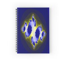 Blue Space Version Two Spiral Notebook