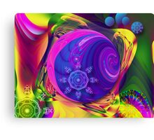 Just a Fantasy, abstract fractal artwork Canvas Print