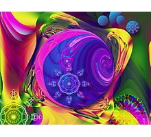 Just a Fantasy, abstract fractal artwork Photographic Print