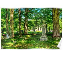Mt. Repose Cemetary, Montville, Maine Poster