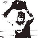 batman says drop the bomb! by seanlar94