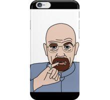 Dr Evil (Walter White) iPhone Case/Skin