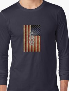 Religious Christian iPhone 6  Case Cover American Flag Long Sleeve T-Shirt