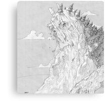 Mountain King Canvas Print