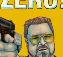 BIG LEBOWSKI- Walter Sobchak- Mark it zero! Sticker