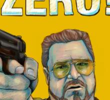 BIG LEBOWSKI- Walter Sobchak- Mark it zero! Sticker