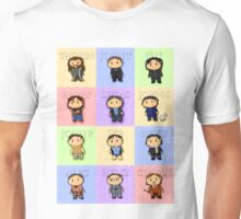Team Everyone Richard Armitage Characters Tee - Without Text Unisex T-Shirt