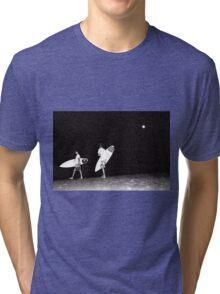 Night Surfing Tri-blend T-Shirt