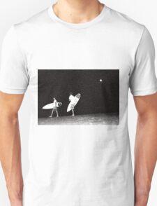 Night Surfing Unisex T-Shirt