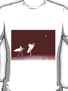 Night Surfing  T-Shirt