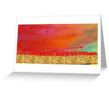Skyscape Greeting Card