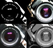 Lens Pop Art by Hannah Taylor