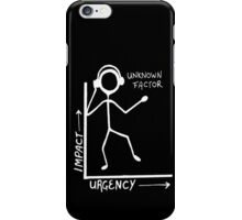 The Unknown Factor invert iPhone Case/Skin