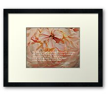 A Glimpse of Paradise Framed Print