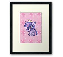 Weeny My Little Pony- Princess Twilight Sparkle Framed Print