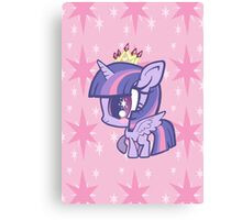 Weeny My Little Pony- Princess Twilight Sparkle Canvas Print