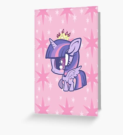 Weeny My Little Pony- Princess Twilight Sparkle Greeting Card