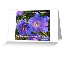 Soothing Calm Greeting Card