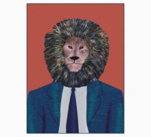 Mr. Lion's portrait Kids Clothes