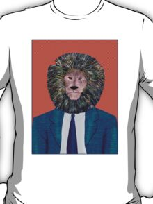 Mr. Lion's portrait T-Shirt
