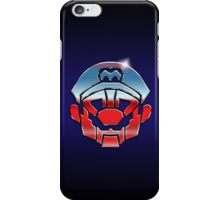 Mariobots... ROLL OUT! (metal version) iPhone Case/Skin