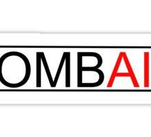Shaun of the Dead - ZOMBAID (White) Sticker