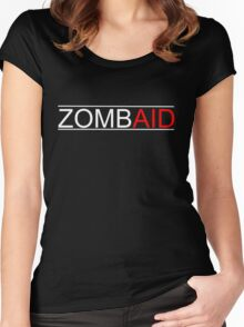 Shaun of the Dead - ZOMBAID (Black) Women's Fitted Scoop T-Shirt
