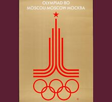 Moscow 1980 Unisex T-Shirt
