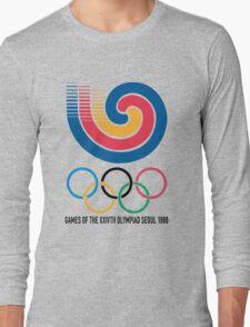 Seoul 1988 Olympics Long Sleeve T-Shirt