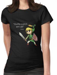 Childhood Destruction (Pokemon, Zelda, Mario) Womens Fitted T-Shirt